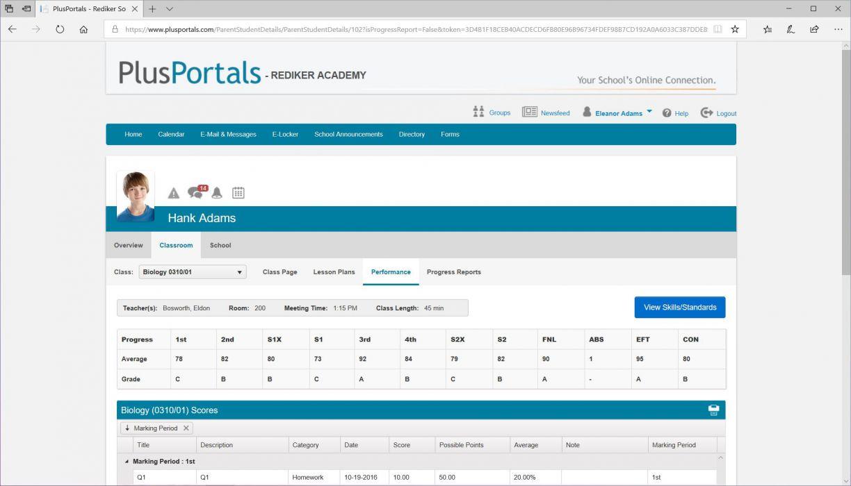ParentPlus & StudentPlus Web Portal   Rediker Software