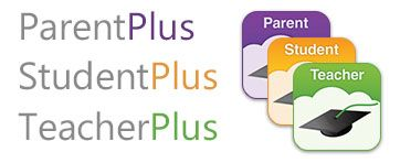 ParentPlus, StudentPlus and TeacherPlus Mobile App Icons