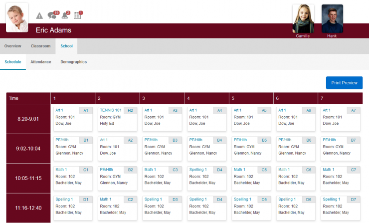 school scheduling software for elementary and middle schools