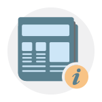 Newspaper Info Icon
