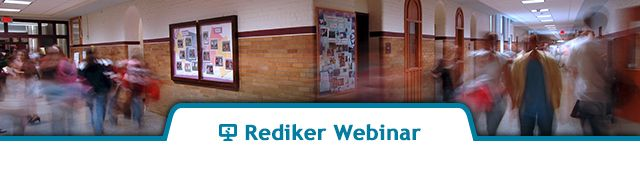 Rediker Webinar - School-to-Home Communication for K-12 Schools - Part 1 - AdminPlus and Plus Portals