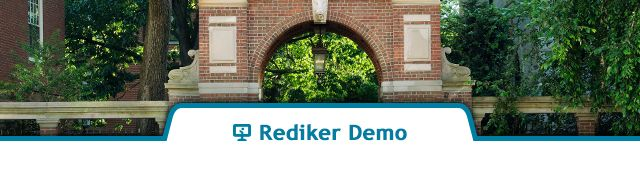 Rediker Demo - Admissions Plus Pro with Online Applications